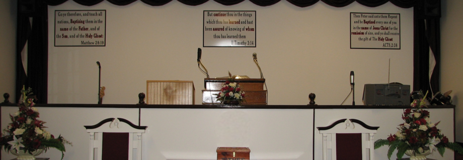 apostle faith church